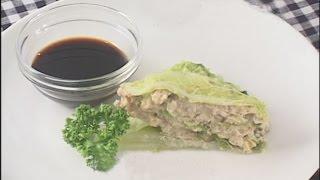 料理レシピ-【白菜の包み蒸し】|ナスラックKitchen