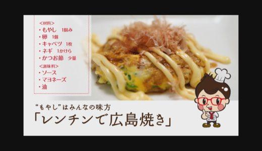 1分ちょっとの簡単料理レンチンで広島焼き_【DVD】「あいつの料理はテキトーに4、5分でザックリ作ってるのに、かなり美味い。」