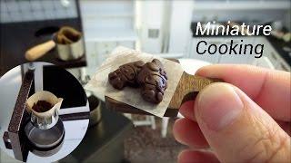 Mini Food #17-ミニチュア料理『コーヒー&チョコ-Coffee & Chocolate-』ミニチュアクッキング Miniature Cooking show 미니 요리 マイメロ