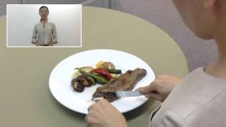 肉料理の食べ方~洋食のマナー ワンポイントマナーレッスン19-日本サービスマナー協会