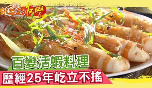 百變活蝦料理 歷經25年屹立不搖《進擊的台灣》第052集