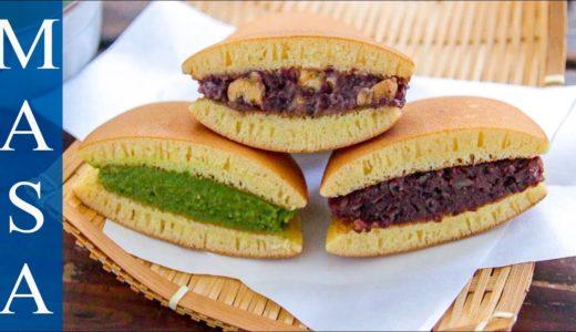3種口味銅鑼燒/Dorayaki with Matcha Custard  MASAの料理ABC