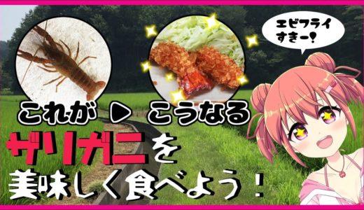 【お料理】ザリガニを綺麗な料理にする蟹#18【Vtuber】