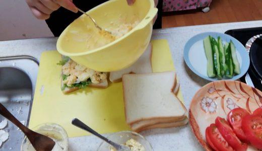 【アラフィフおでぶの料理】久しぶりのサンドイッチを作る!☺️