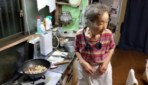 2019.08.14 ばあちゃんの孫への料理教室 ばあちゃん流 牛丼(本日は市販のタレ使用)。
