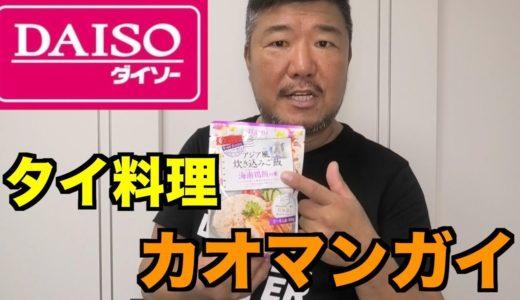 【必見】【DAISOシリーズ】100円でタイ料理カオマンガイが作れる!
