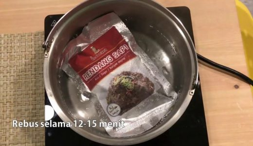 indomama 料理包加熱方式