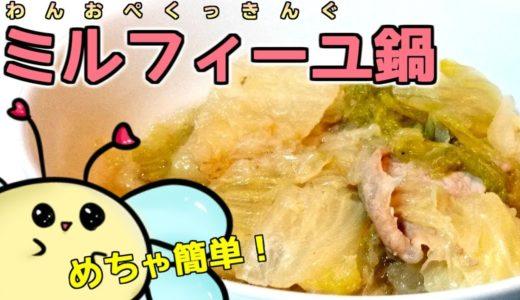 【簡単料理】たったこれだけ!?白菜と豚肉のミルフィーユ鍋作ってみた!【ぽんこつ】【ボカロP】