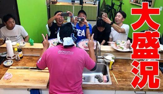 巨大ヒラマサ・ブリ・鯛・キジハタ・アカハタで豪華料理を作る‼
