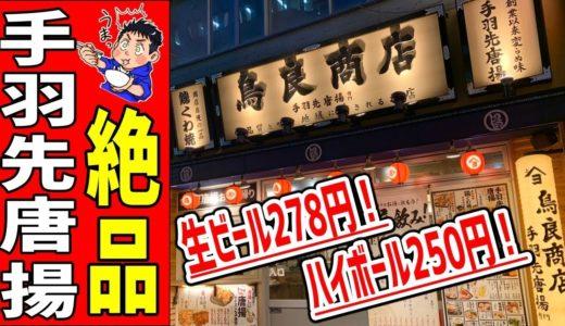 【鳥良商店】アルコールが安い!数々の鶏料理が激うますぎて大満足だった!