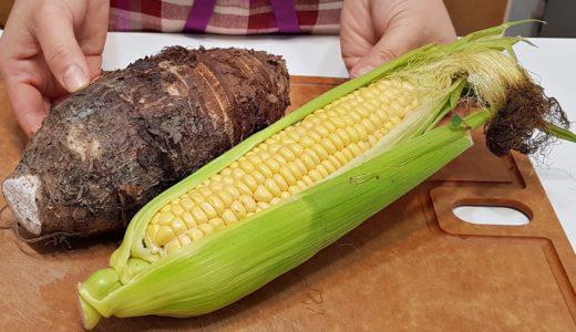 素食家常菜料理│芋頭加玉米這樣做太香了,連不愛芋頭的孩子都說好吃,開水一滾,出鍋比肉還香 │Vegan Recipe │EP162