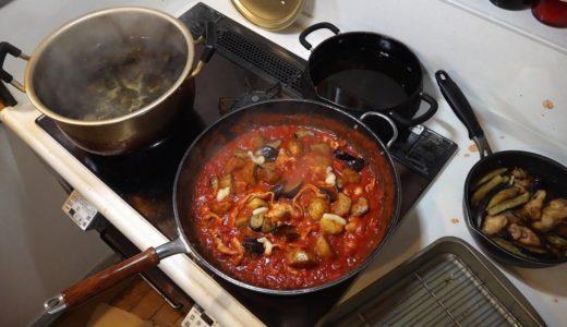 アレンジ料理作る。【 簡単トマト缶煮込み豚バラ&アレンジ豚バラ肉味噌麺 】