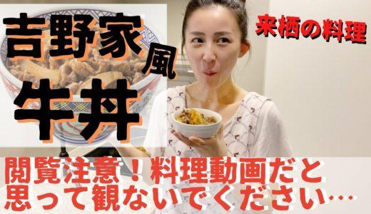 【来栖の料理】料理動画だと思ってみたら期待外れな動画w「ダシダ丼」からのアレンジレシピで「吉野家風牛丼」を作る【閲覧注意】
