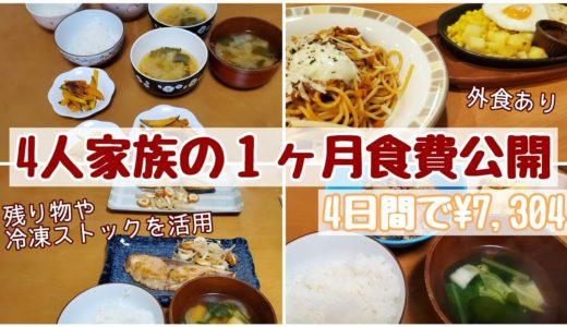 【食費記録】栄養は気になるけど手抜きしたい…料理が苦手な主婦の1ヶ月食事記録🍜