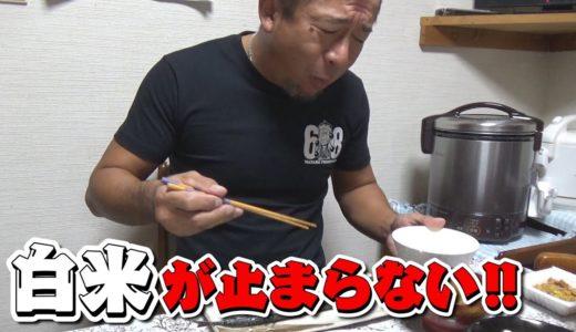 にしやん会長にもらった豚肉を使った絶品料理!美味すぎて思わず白米を掻き込んでしまいましたw