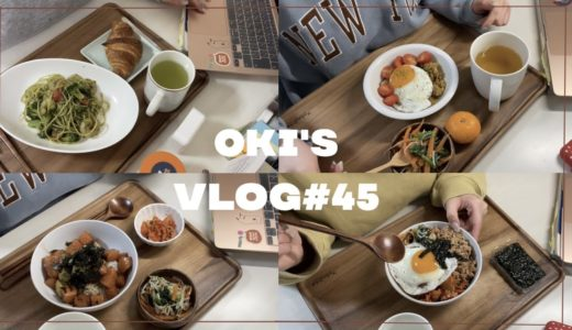 VLOG#45(ENG)🍳インドアな一人暮らし大学生の料理vlog🍳| what i ate in a dayⅡ